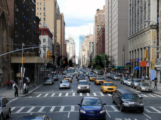 Verkehr in New York - Traffic at Big Apple NYC