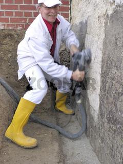 Bausanierung Fundamentreparatur Sanierfräsarbeit