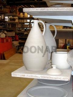 Töpferei, Pottery, Keramik, Rohling