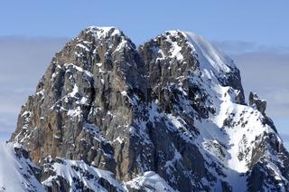 Gipfel Croix des Verdons, Courchevel, Frankreich
