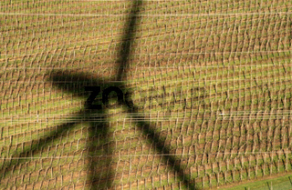 Shadow Of A Windmill / Windrad Schatten