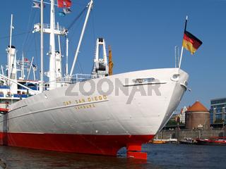 Museumsschiff Cap San Diego in Hamburg