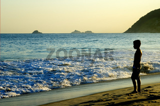 Am Ipanema Strand, Rio /Ipanema beach, Rio, Brazil