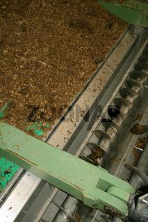 Auger, biogas plant / Förderschnecke, Biogasanlage