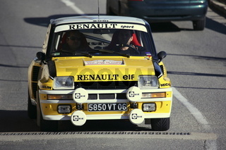 Rallye Monte-Carlo Historique, Renault