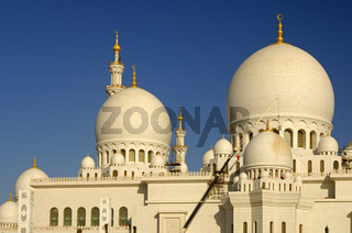 Grosse Moschee, Abu Dhabi /Great Mosque, Abu Dhabi