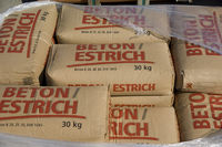 Betonestrichsäcke, Concrete screed bags