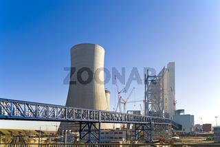 Großbaustelle BOA-Kraftwerk Neurath