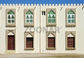 Renovierte Häuser im arabischen Stil, Sur, Oman