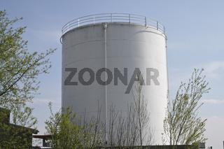 Einzelne Raffinerie