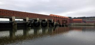 Donaukraftwerk Kachlet  in Passau