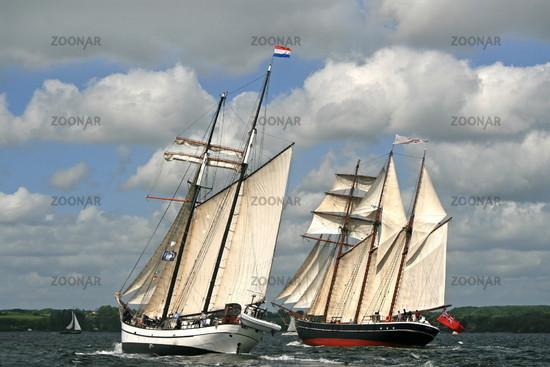 Rumregatta  - Regatta with classic boat