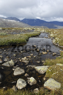leirungsdalen, mountain landscape, gebirgslandschaft, oppland, norwegen, norway, nordeuropa, north europe,