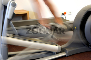 bicycle in a sport studio / Fitness Fahrrad