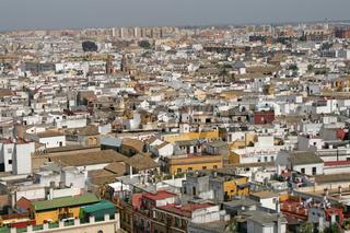 Panorama von Sevilla