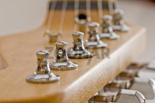 E- Gitarrenkopf Guitar Detail