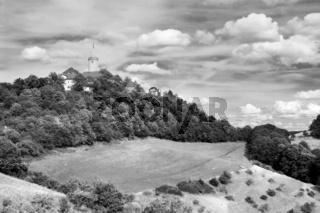 Die Leuchtenburg (sw)
