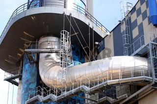 Hundertwasser Müllverbrennungsanlage Wien