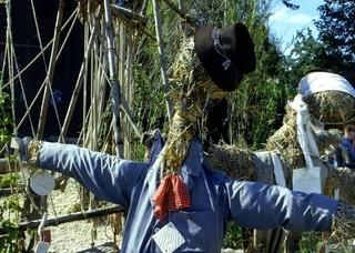 Vogelscheuche, Scarecrow, Strohpuppe