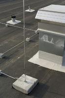 Dachdeckerhandwerk, Flachdach Roofing