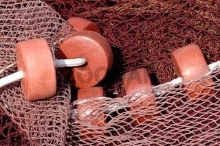 braunes Fischernetz