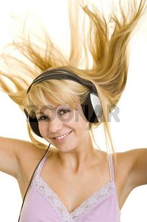 Musik mit wehenden Haaren