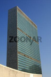 Glaspalast der Vereinten Nationen, New York, USA