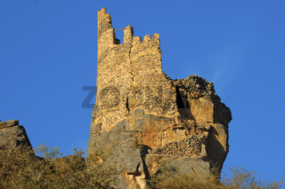 Ruine eines alten Wachturms, Sultanat Oman