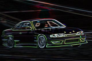 green night racing