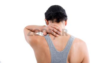 Schmerzen am Nacken
