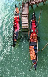 Venedig Gondelere