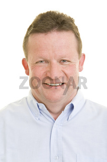 Lachender Senior