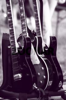Gitarren Sammlung