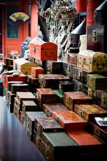 Markt in Peking - Market in Beijing
