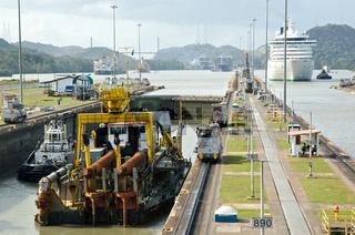 Panamacanal - Miraflores locks