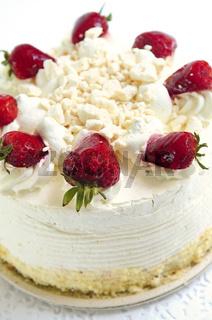 Isolated cake