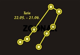Sign of the zodiac, Twin