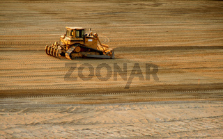 Planierraupe / Bulldozer