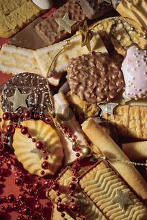 weihnachtliche Keksmischung