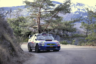 Rallye Monte-Carlo, French Alps