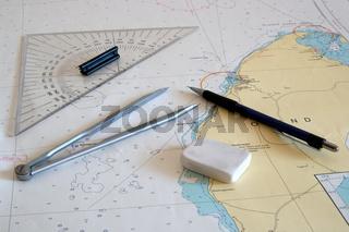 Navigation - nautical chart