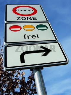 Umweltzone - low-emission zone