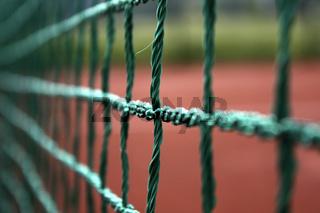 Netz Knoten Tennisnetz