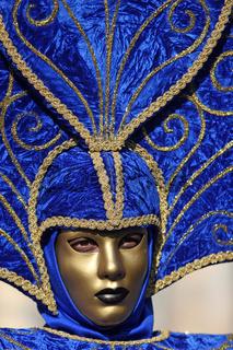 Maske in Venedig