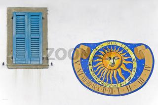 Sonnenuhr / sun clock
