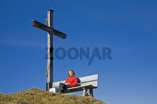 Gipfelrast/ A rest on the top