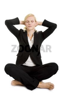 Ganz entspannt sitzen