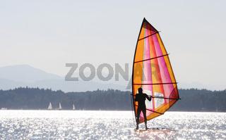 Windsurfer, Surfer