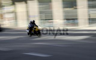 Schnelles Motorrad