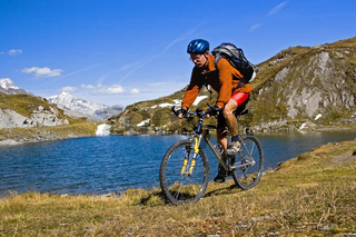 Biken am Pfitscher Joch /Mountainbiken